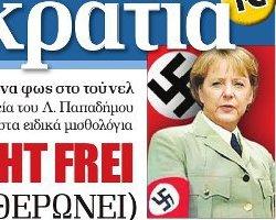 merkel nazi