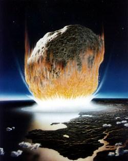 asteroid vor 60 millionen jahren