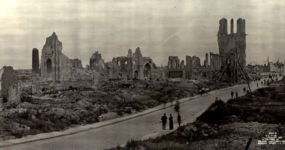 zerstoerte stadt