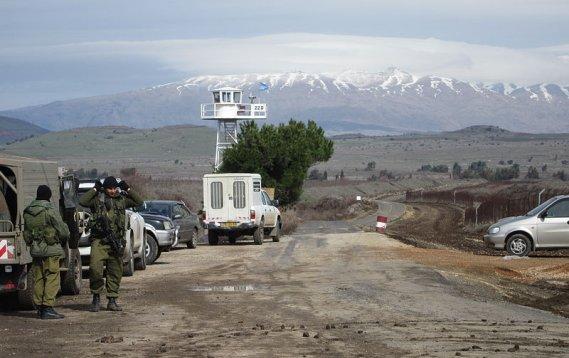 grenze syrien israel