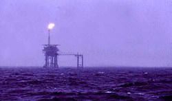 north see oil drilling