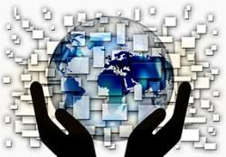 energy globe hands