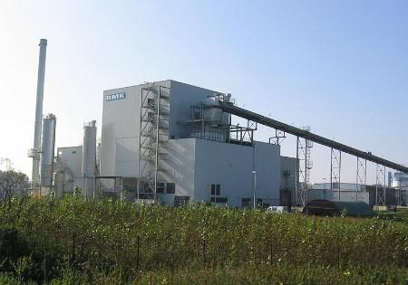 Biomassekraftwerk-Luenen