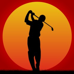 golf_sonnenuntergang