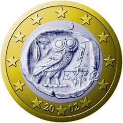 euro muenze griechenland