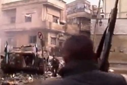 syria homs fighting