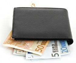 wallet euros