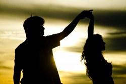 harmony dancing siluettes