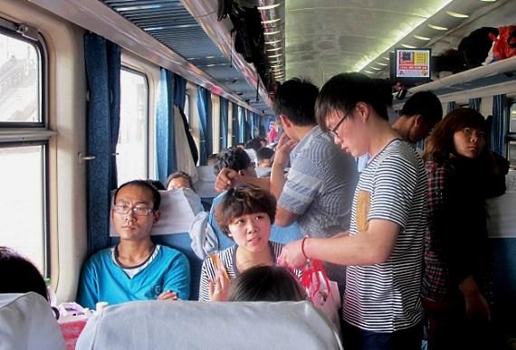 china eisenbahn innen