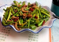 china kloblauchgericht