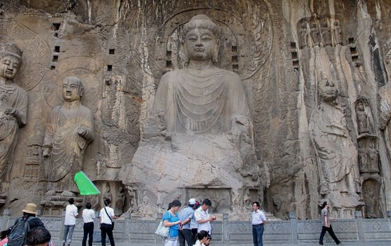 china longmen buddha