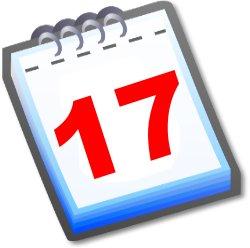 kalenderblatt 17