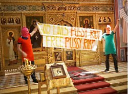 pussy riot russia