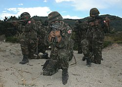 turkish soldiers nato exercise