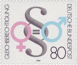 briefmarke gleichberechtigung