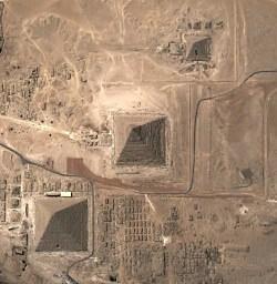 pyramids googe earth