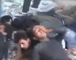 syria prisoners execution
