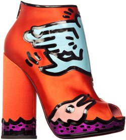 keith haring shoe